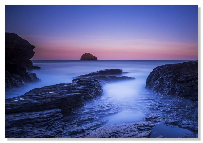 Dawn Trebarwith Strand