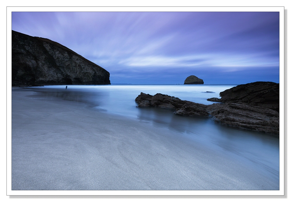 Trebarwith, first light
