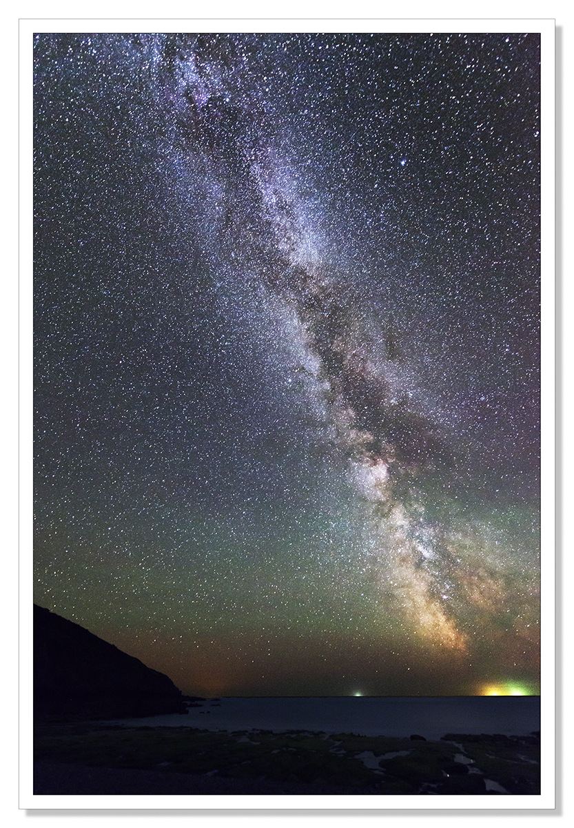 The Milky Way, Hemmick Beach I