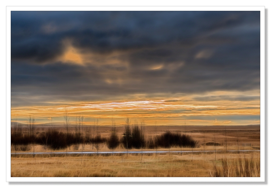 Landscape photograph, Geysir, Iceland Sunset, Iceland