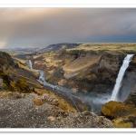 Landscape Photograph, Iceland, Haifoss