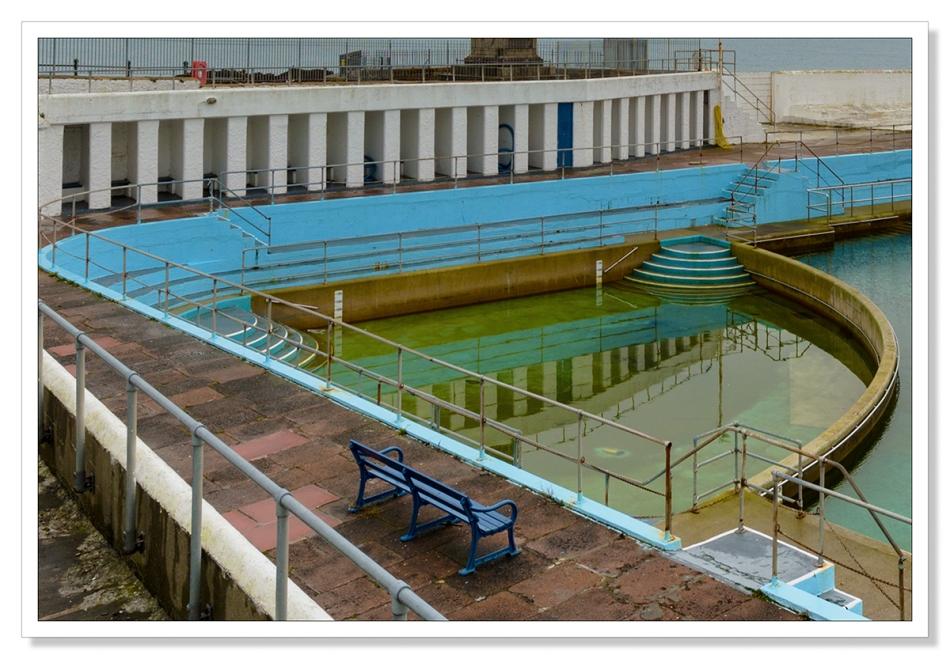 Jubilee Pool, Penzance, detail