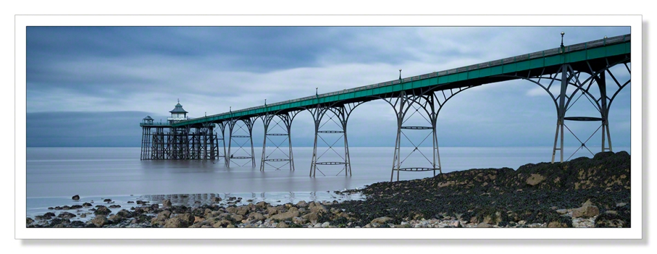 Clevedon Pier Panoramic taken on a cold January day