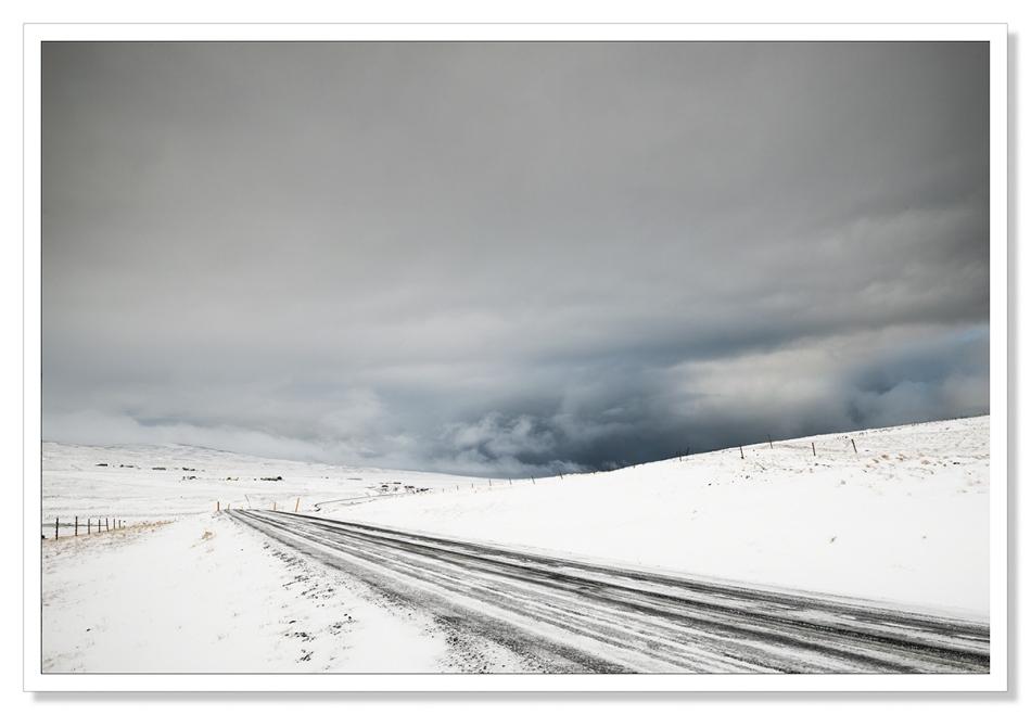 Hringvegur in Winter