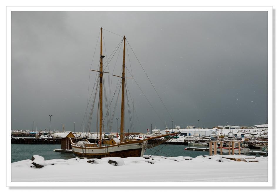 Ship at Húsavík