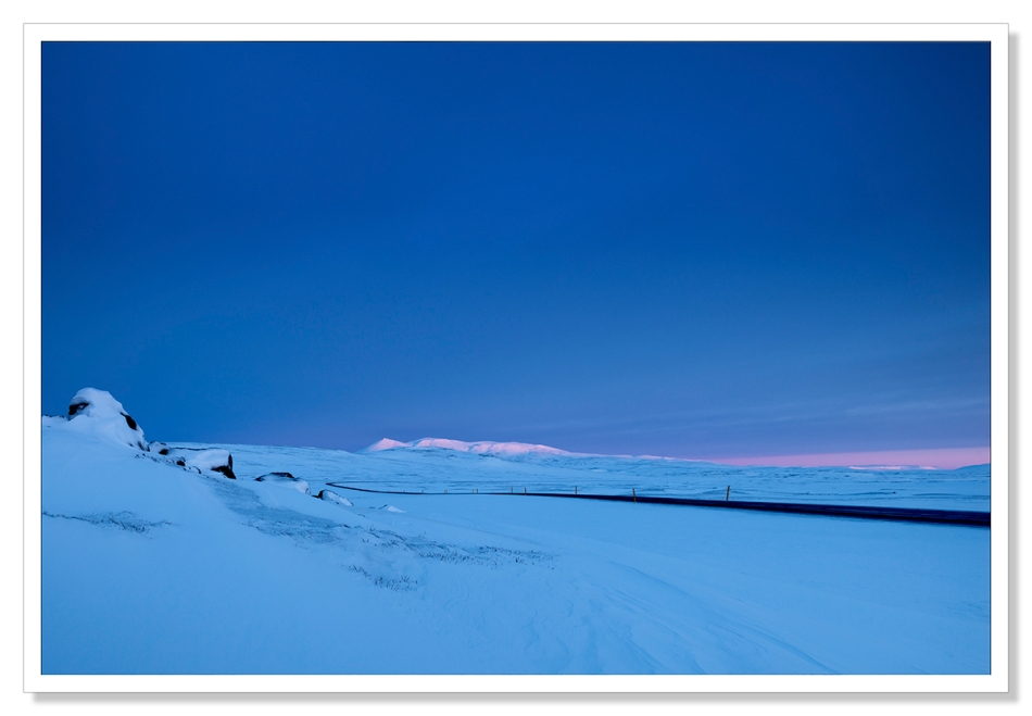 Dawn, Hringvegur, Iceland