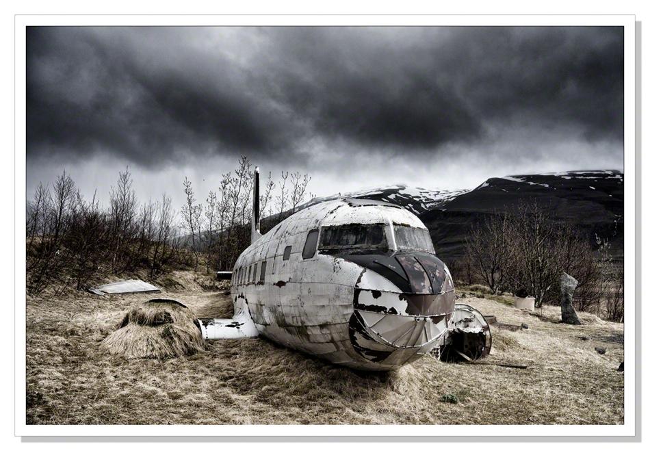 Crashed Dakota DC-3