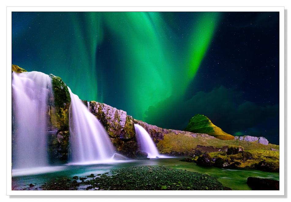 Kirjufellsfoss, Snaefellsnes, Iceland
