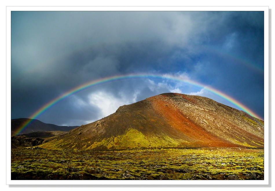 Rainbow, Reykjanes Peninsular