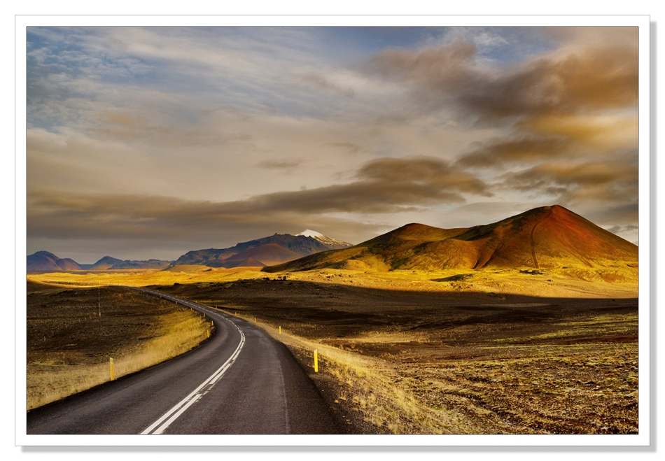 The Road to Stykkisholmur by Adrian Theze