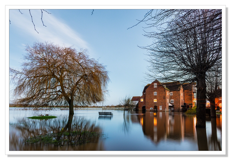 Tewkesbury Mill by Adrian Theze