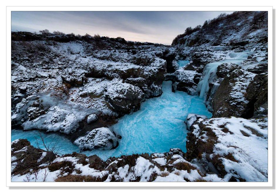 Barnafoss Iceland by Adrian Theze