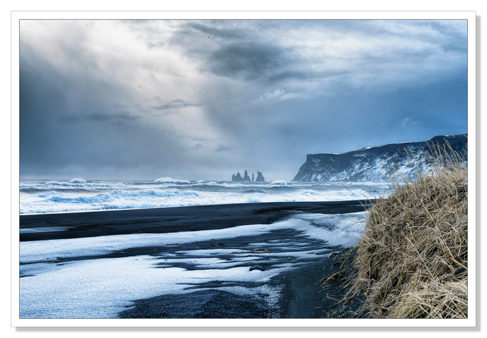 Reynisdrangar, Vik, Iceland by Adrian Theze