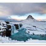 Kirkjufellsfoss by Adrian Theze
