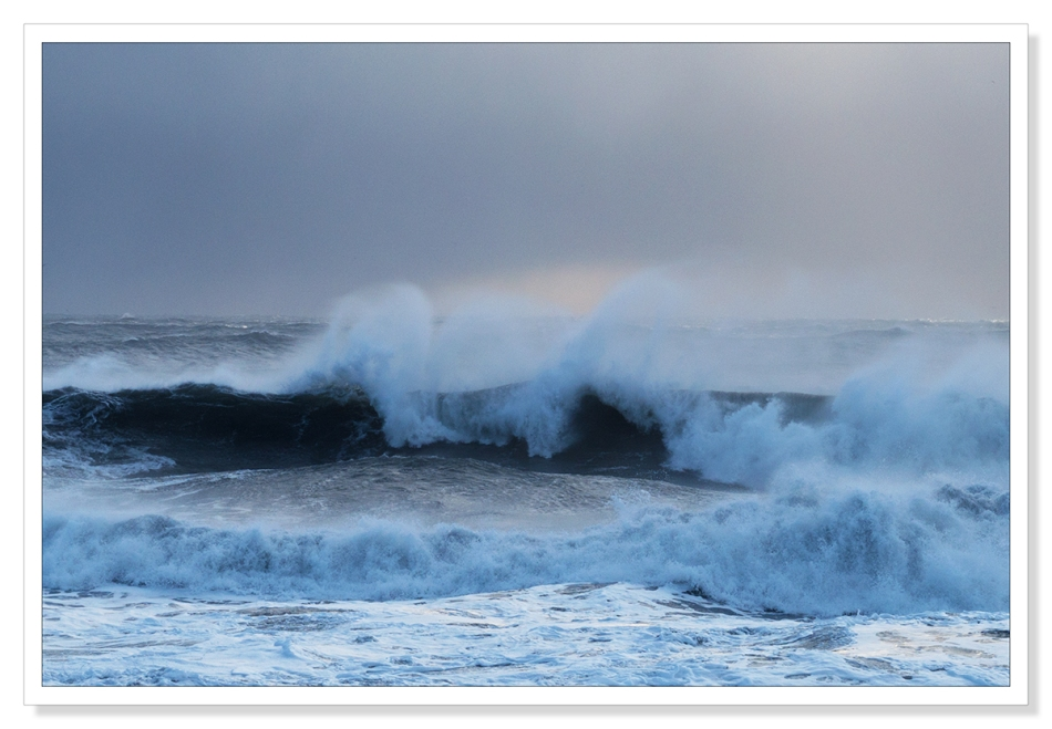Rough Icelandic Sea by Adrian Theze